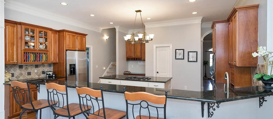 TOP 5 LISTINGS IN WAKE COUNTY WITH GOURMET KITCHENS UNDER $1 MILLION