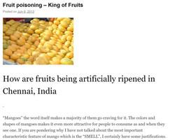 Fruit poisoning