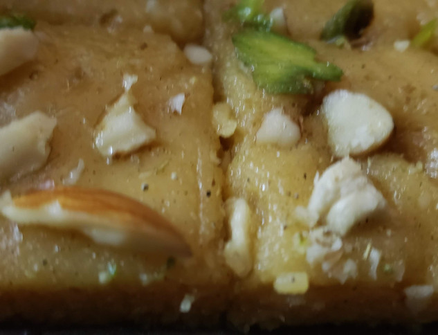 Cashew and Pista sweet