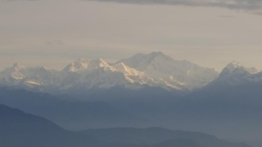 Kangchenjunga (third highest mountain in the world)