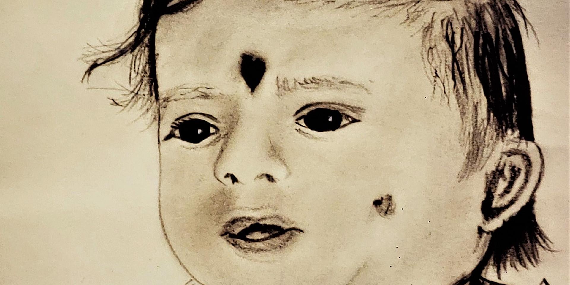 Shilpa as a Baby