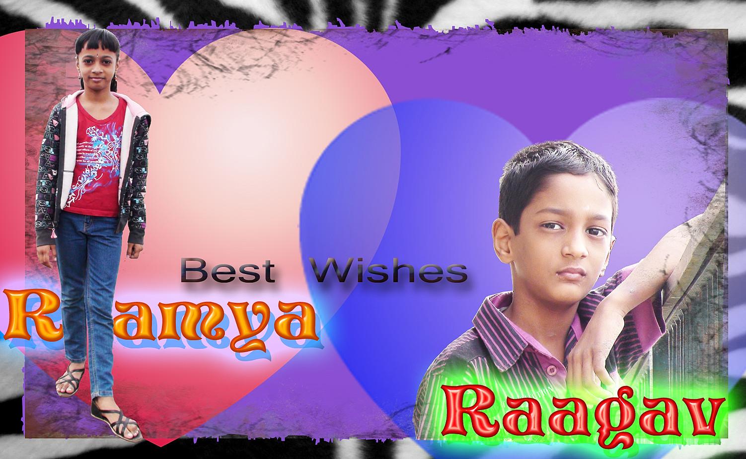 Ramya Raagav Best Wishes