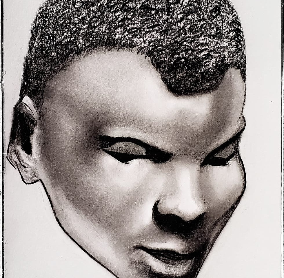 A Negro in Charcoal