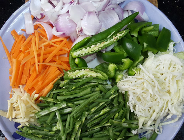 Preparation for noodles