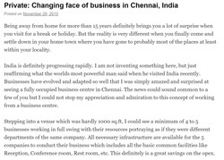 Changing face of business