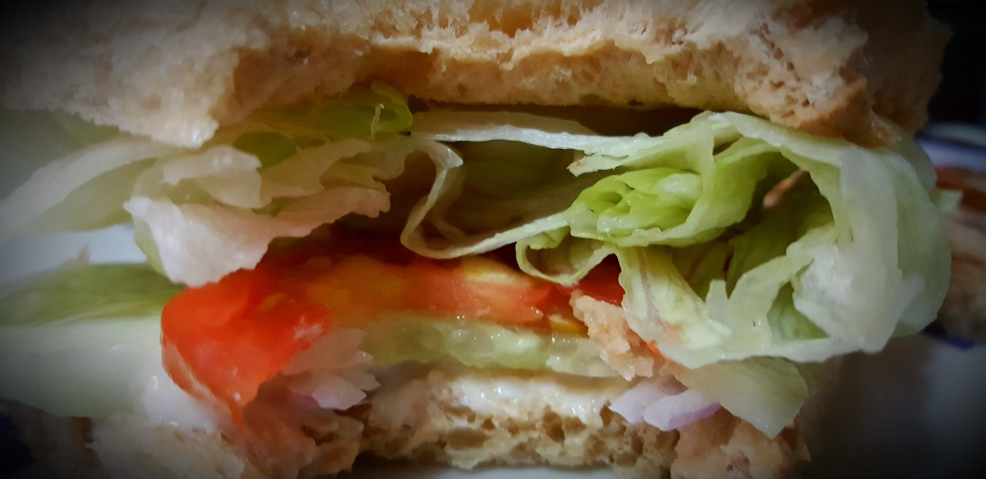 Vege Burger - Mac D style