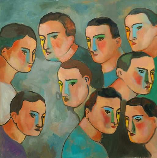 Faces is the work of Sandro Chia, Faces was created on 2014. Sandro Chia is an artist recommended by ZAI | Zhong Art International, pay attention to Zhong Art International, and get the latest developments of Sandro Chia.