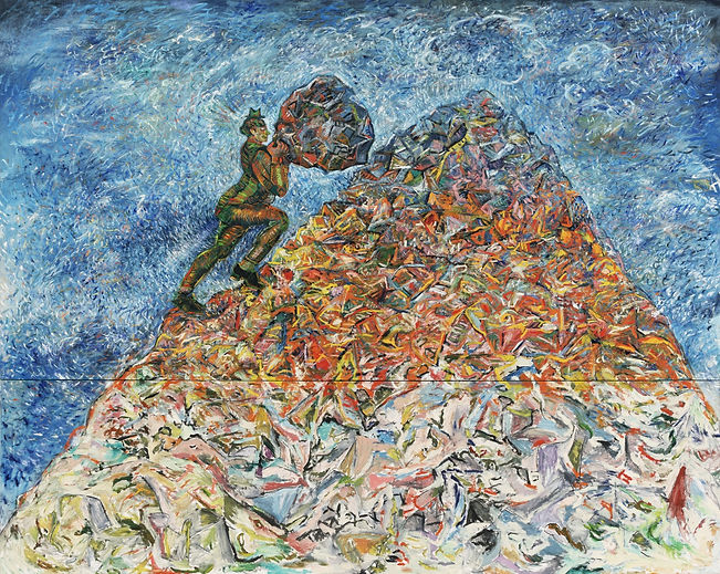 The Idleness of Sisyphus is the work of Sandro Chia, The Idleness of Sisyphus was created on 1981. Sandro Chia is an artist recommended by ZAI   Zhong Art International, pay attention to Zhong Art International, and get the latest developments of Sandro Chia.