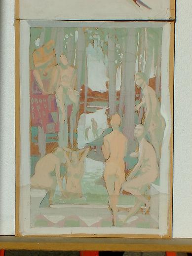 ~2000 帕里的·普拉多的审判 局部 切卡特里宫—~2000 Giudizio di Paride Prato, casa Ceccatelli是 文森佐 文堤米利亚 的作品, ~2000 帕里的·普拉多的审判 局部 切卡特里宫—~2000 Giudizio di Paride Prato, casa Ceccatelli创作于1985. 文森佐 文堤米利亚 是中艺国际| ZAI 推荐的艺术家 , 关注中艺国际, 获得文森佐 文堤米利亚 的最新动态.