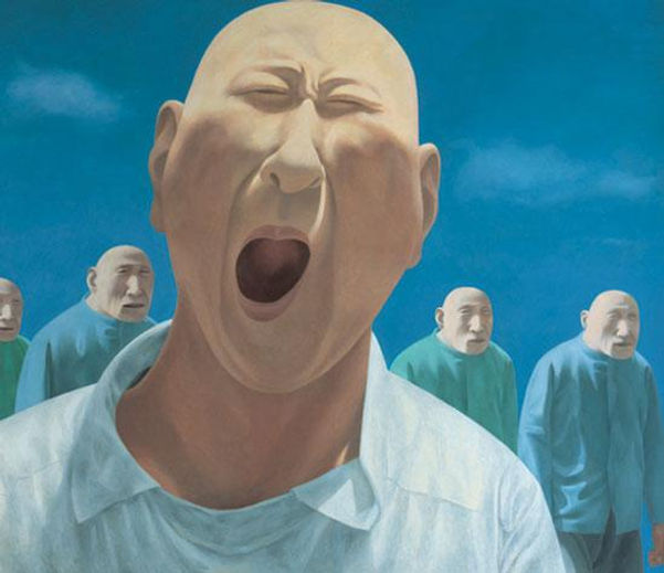 Series 2 No,2 1991-1992, oil on canvas is the work of Fang Lijun, Series 2 No,2 1991-1992, oil on canvas was created on 1991 - 1992. Fang Lijun is an artist recommended by ZAI | Zhong Art International, pay attention to Zhong Art International, and get the latest developments of Fang Lijun.