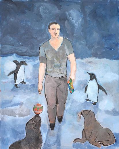 旅行者和海豹、企鹅, 布面油画是 桑德罗 贾亚 的作品, 旅行者和海豹、企鹅, 布面油画创作于2017. 桑德罗 贾亚 是中艺国际| ZAI 推荐的艺术家 , 关注中艺国际, 获得桑德罗 贾亚 的最新动态.