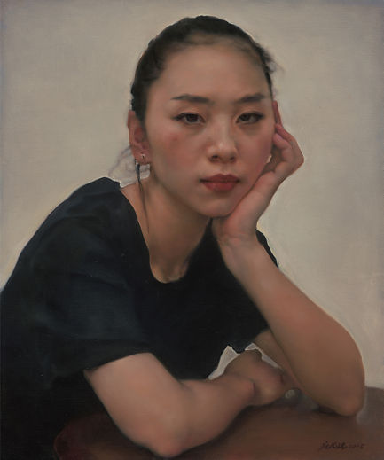 Portrait of a Girl  is the work of Pang Maokun, Portrait of a Girl  was created on 2014. Pang Maokun is an artist recommended by ZAI | Zhong Art International, pay attention to Zhong Art International, and get the latest developments of Pang Maokun.
