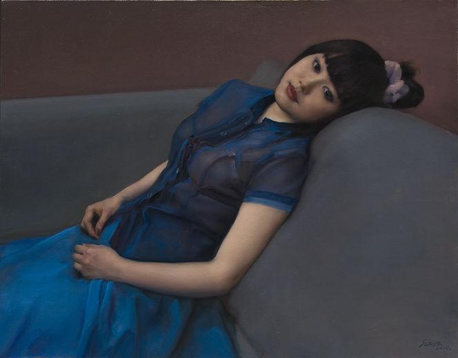 蓝衣少女是 庞茂琨 的作品, 蓝衣少女创作于2010. 庞茂琨 是中艺国际| ZAI 推荐的艺术家 , 关注中艺国际, 获得庞茂琨 的最新动态.