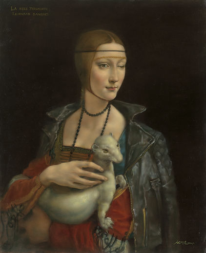 Lady with an Ermine is the work of Pang Maokun, Lady with an Ermine was created on 2017. Pang Maokun is an artist recommended by ZAI | Zhong Art International, pay attention to Zhong Art International, and get the latest developments of Pang Maokun.