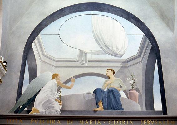 """""""Annunciazione"""", Chiesa Maria SS. delle Grazie, Isola delle Femmine (PA)"""