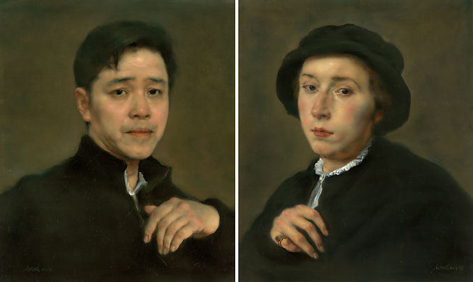 Corresponding Portraits is the work of Pang Maokun, Corresponding Portraits was created on 2017. Pang Maokun is an artist recommended by ZAI | Zhong Art International, pay attention to Zhong Art International, and get the latest developments of Pang Maokun.