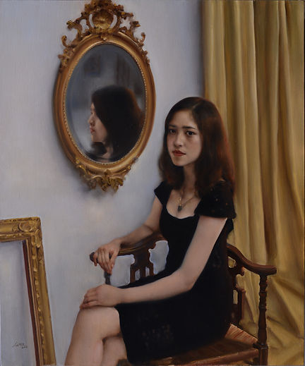 Girl in front of the Mirror is the work of Pang Maokun, Girl in front of the Mirror was created on 2016. Pang Maokun is an artist recommended by ZAI | Zhong Art International, pay attention to Zhong Art International, and get the latest developments of Pang Maokun.