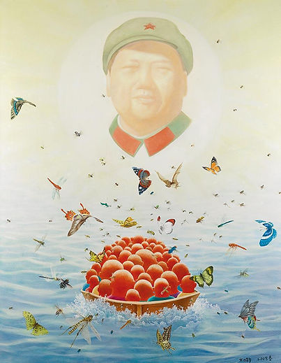 Spring 2008   is the work of Fang Lijun, Spring 2008   was created on 2008. Fang Lijun is an artist recommended by ZAI | Zhong Art International, pay attention to Zhong Art International, and get the latest developments of Fang Lijun.