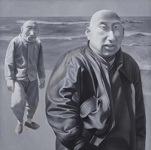 《系列一 之四》 布面油画是 方力均 的作品, 《系列一 之四》 布面油画创作于1990-1991. 方力均 是中艺国际| ZAI 推荐的艺术家 , 关注中艺国际, 获得方力均 的最新动态.