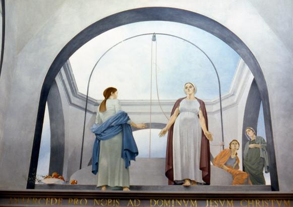 """""""Visitazione"""", Chiesa di Maria SS. delle Grazie, Isola delle Femmine (PA)"""