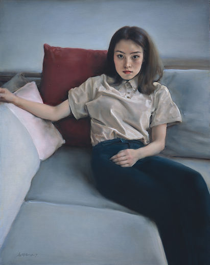 Teenage Girl is the work of Pang Maokun, Teenage Girl was created on 2017. Pang Maokun is an artist recommended by ZAI | Zhong Art International, pay attention to Zhong Art International, and get the latest developments of Pang Maokun.