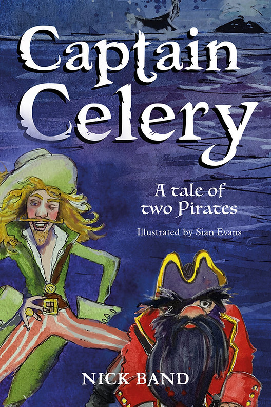 Captain Celery | Pirate Books For Kids