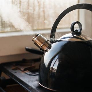 Gas burner and Weber BBQ