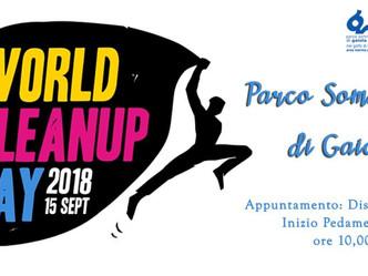 World Cleanup Day al Parco della Gaiola