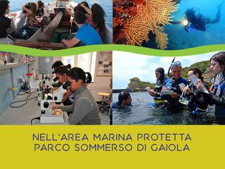 Corso Operatore Scientifico Area Marina Protetta