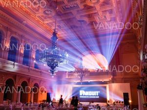 Gala dinner at neo-renaissance palace in Prague