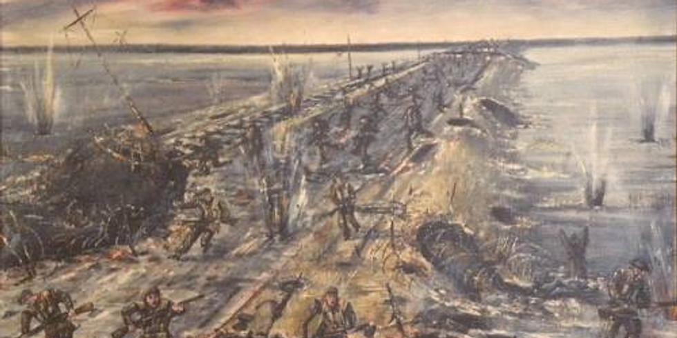 75e/th Diner Bataille Chaussée de Walcheren Causeway Battle Dinner