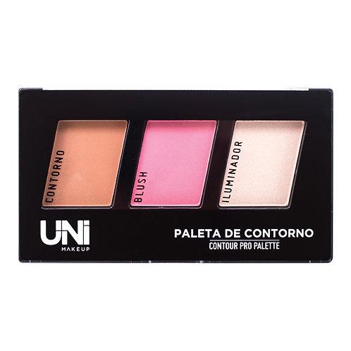 Paleta de Contorno Uni Makeup