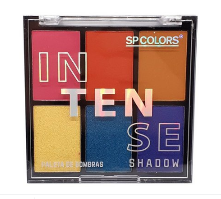 Paleta de Sombras Intense Shadow SP COLORS