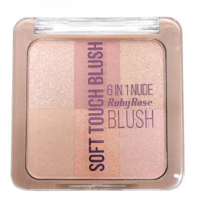 Blush Soft Touch 6 em 1 Ruby Rose