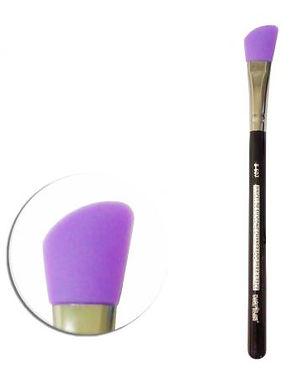 Pincel de Silicone Chanfrado para a Face B-607 Macrilan