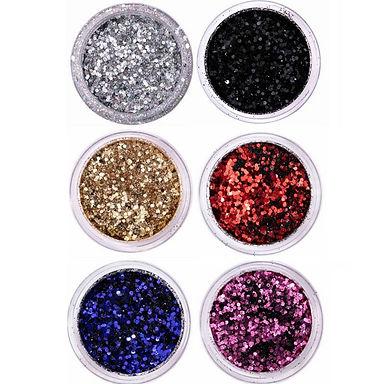 Glitter Flocado Dapop - Coleção Brasa
