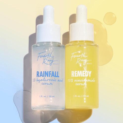 Remedy+Rainfall face serum kit - Sob Encomenda
