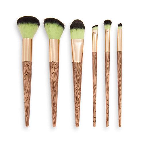 Bouvier Coven Brush Set