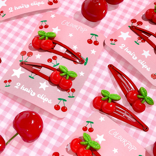 Cherry Sweet Hair Clips