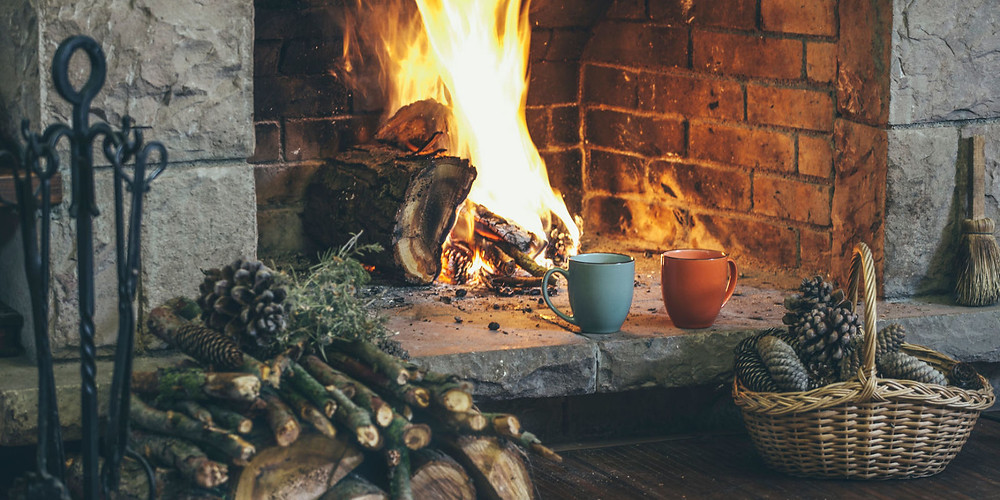Fireplace+hermit+warmth+cozy+hygge+pinterest
