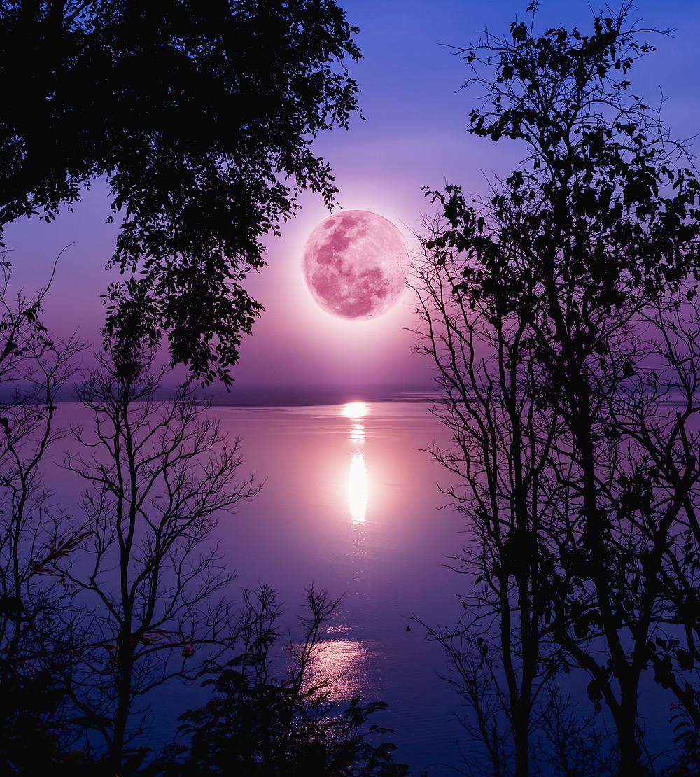 Libra+Full+moon+Pink+moon