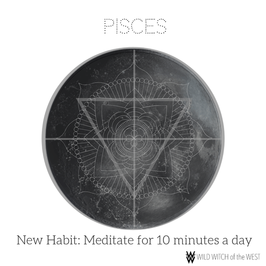 Flowing & Floating :: Pisces New Moon