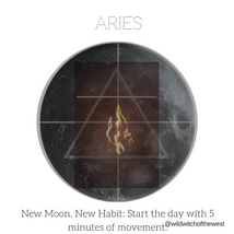 Ambition & Action :: Aries New Moon
