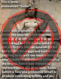 Easter, Ostara, & (not) Ishtar
