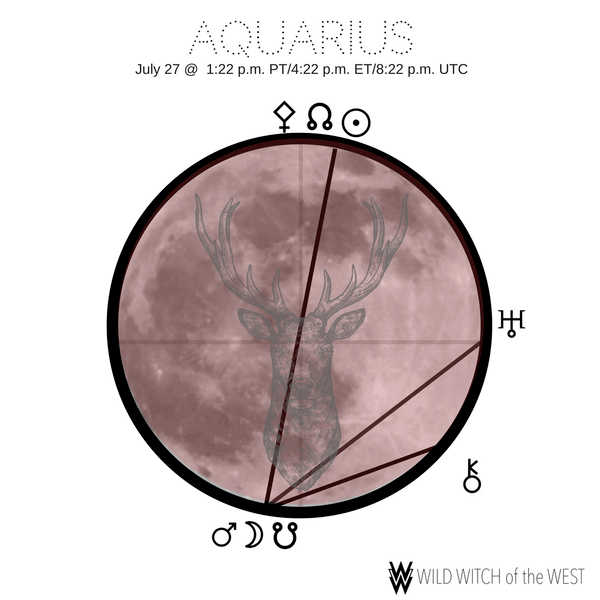 Collective Contribution :: Aquarius Full Moon Total Lunar Eclipse