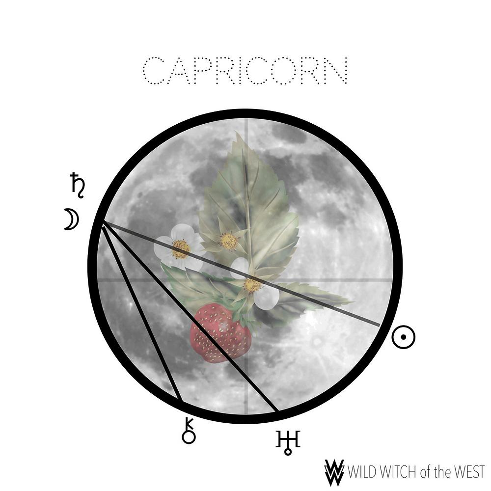 capricorn_full_strawberry_moon