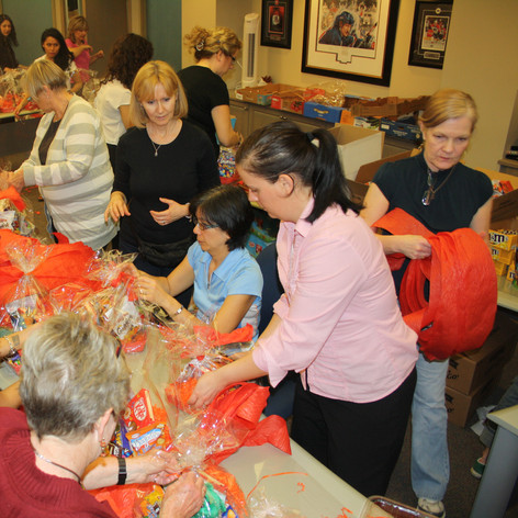 Gala volunteer workshops
