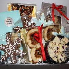 Sampling of gift box contents