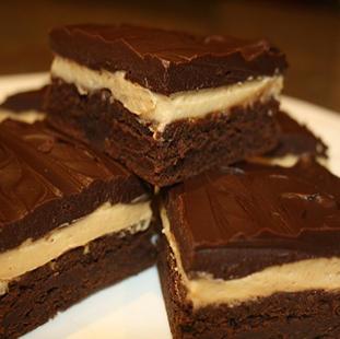 Peanutbutter Truffle Brownies