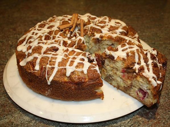 Cranberry Apple Coffee Cake